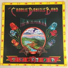 """CHARLIE DANIELS BAND - FIRE ON THE MOUNTAIN -  Fold Out Cover 12"""" Vinyl LP 1974"""