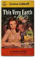 This Very Earth by Erskine Caldwell 1951 Signet Paperback 838