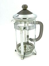 """BonJour Glass Stainless Steel Coffee French Press 9.5"""""""