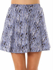 Cotton Above Knee A-Line Skirts for Women