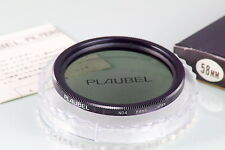 FILTRO PLAUBEL FILTER 58mm NEW IN BOX OLD STOCK ND4X GREY FOR MAKINA 67 670