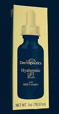 NIB $65.00 Dermapeutics Hyaluronic Lift Serum with MDI Complex 1 Oz.