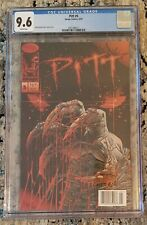 CGC 9.6 Image Comics PITT #5 (6/94) White Pages Rare NEWSSTAND Keown Cover
