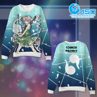Anime Sweater TouHou Project Konpaku Youmu Unisex Casual Hoodie Sweatshirt Coat