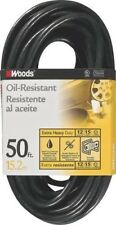 WOODS 2457 AGRI-PRO OIL RESISTANT 12/3 X 50 FOOT OUTDOOR EXTENSION CORD 1244649
