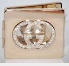 100% GENUINE GUCCI Diamond Ltd Edition COMPACT  MAKE UP TRAVEL MIRROR RRP £125