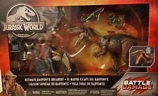 Jurassic World Ultimate Baryonyx Breakout Battle Damage New Mattel Owen Park Set