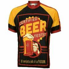 """Beer Tester Short sleeve 19"""" zip men's cycling jersey"""