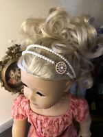 Pearl Headband for American Girl Caroline