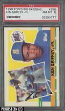 1990 Topps Big Baseball #250 Ken Griffey Jr. Seattle Mariners HOF PSA 8 NM-MT