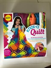 Knot a Quit 42x54 no stitching just knotting ages 6+ New