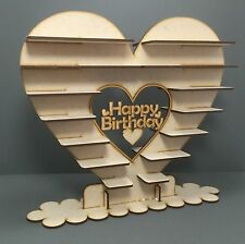 Y5 82x Choc Birthday Ferrero Rocher Heart Centrepiece Wedding Display Tree Stand