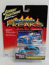 Johnny Lightning Street Freaks 00 Honda Civic Custom Blue HTF