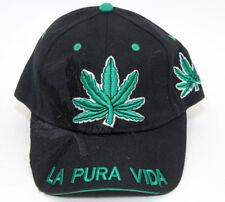 0099cdec32d NEW LA PURA VIDA Cannabis Pot Leaf Hat Baseball Cap Legalize Marijuana