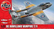 DE HAVILLAND VAMPIRE T.11  AIRFIX 1/72 PLASTIC KIT