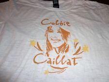 COLBIE CAILLAT T SHIRT Concert Tour  Thin Tee Juniors  Large  L3