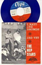 ABBA - The Hep Stars - Jag Vet -  I Natt Jag Drömde - 7 Inch BLUE Vinyl - SWEDEN