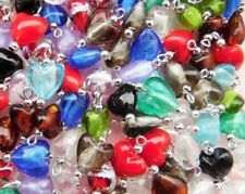 Unbranded Glass Jewellery Making Charms & Pendants