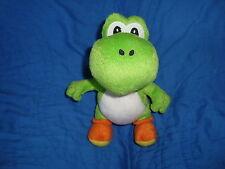 "Super Mario 2010 nintendo plush YOSHI 8.5"" tall"