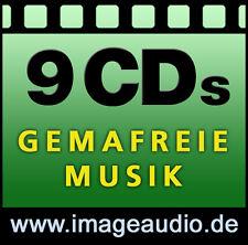 9 CD gemafreie musique-bossa jazz rock country-gemafrei AKM suisa librement