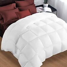 Queen Comforter Soft Warm Goose Down Alternative Duvet Insert 2100 Quilt with Co