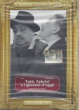 Dvd **TOTO' ~ FABRIZI E I GIOVANI D'OGGI** nuovo Slipcase 1960