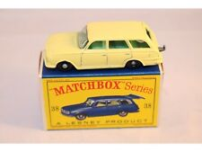 Matchbox Lesney No 38 Vauxhall Victor Estate Car BPW green interior in box
