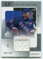 2000-01 SP Game Used Tools of the Game Exclusives MM Mark Messier Jersey /350