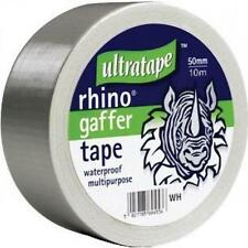 Rhino Silver Strong Cloth DIY Waterproof Carpet Adhesive Tape 50mm x 10m
