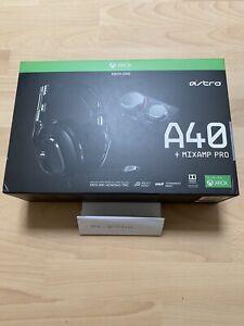 Astro A40 TR + MixAmp Pro Gaming Headset - Schwarz für Xbox  Top Zustand