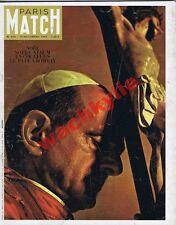 Paris Match n°819 du 19/12/1964  pape Paul VI en Inde Bombay Stanleyville Congo