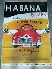 HABANA BLUES Manifesto Film 2F Poster Originale Cinema 100x140 BENITO ZAMBRANO