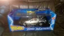 Back To The Future DeLorean, 1:18 Diecast Autograph SIGNED BY CHRISTOPHER LLOYD