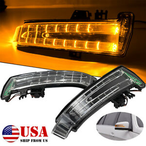 2x Turn Signal LED Light Side Mirror Indicator For Mercedes Benz W212 W204 C204