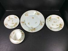 BEAUTIFUL VINTAGE HAVILAND FRANCE 5 PIECE PLACE SETTING-AUTUMN LEAF PATTERN