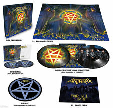 ANTHRAX FOR ALL KINGS PICTURE DISC 2LP + 2CD + POSTER BOX SET