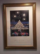 """Disney Charles Wissig LTD Ed Signed&Numbered Print """"The Majesty of Candlelight"""""""
