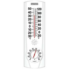 SPRINGFIELD 90116 Plainview Indoor/Outdoor Thermometer & Hygrometer