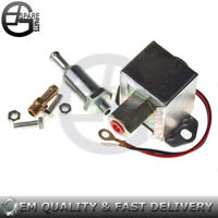 New Facet Universal Electric Fuel Pump 12 Volt 4-6psi 120LPH Solid state Petrol