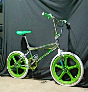 1996 HARO ZI FUSION RACE CHROME.
