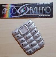 Kit Ricambio TASTI TASTIERA per NOKIA 1110 1110i per Cover Guscio nuovo Keypad