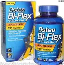 NEW OSTEO BI-FLEX JOINT HEALTH TRIPLE STRENGHT + VITAMIN JOINT SHIELD DAILY CARE