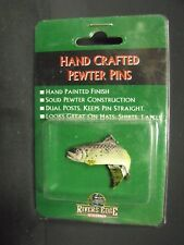 Rivers Edge, Rainbow Trout, Hand Crafted Pewter Pin, MIP