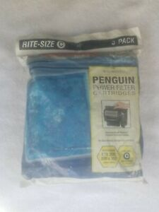 """Marineland ~ Rite Size """"C"""" ~ Replacement Cartridge for Penguin ~ 3 pack ~ New"""