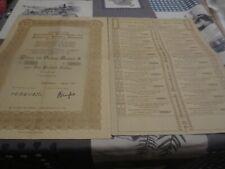 Nederlandsche Maatschappij voor Scheepvaart - Aandeel 100 gulden 1925 Action