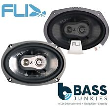 """Fli FI69 750 Watts a Pair 3 Way 6x9"""" 3 Way Car & Van Door Parcel Shelf Speakers"""