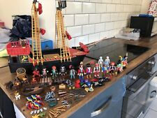 Playmobil 5736 Blackbeards Pirate Ship With Lots Of Extras.