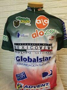 World Jersey Men's Cycling 3/4 Zip Jersey Size XL MexicoVivo Multi Sport