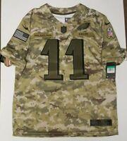 Nike Carson Wentz Salute To Service Philadelphia Eagles Jersey Sz XL AH4951 336