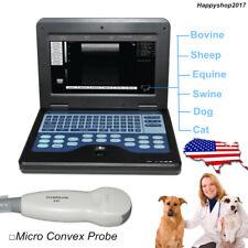 Usa Veterinary Ultrasound Scanner Laptop Machine Micro Convex Dog Cat Pregnancy